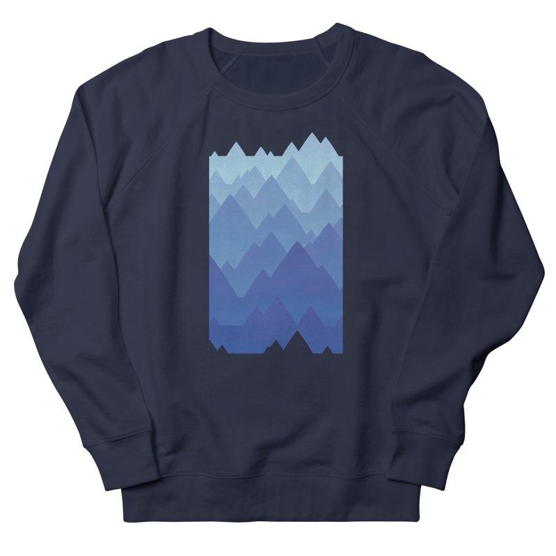 Mountain Vista Women's French Terry Sweatshirt by Waynem