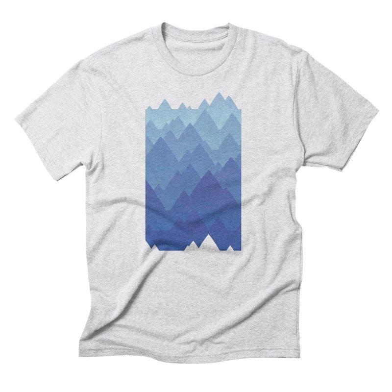 Mountain Vista Men's Triblend T-Shirt by Waynem