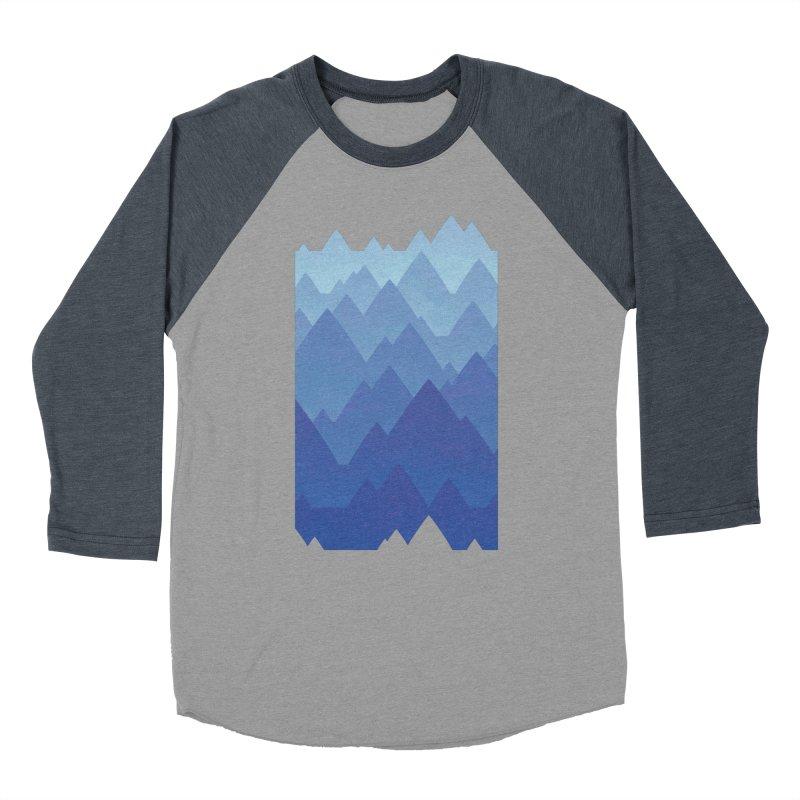 Mountain Vista Women's Baseball Triblend Longsleeve T-Shirt by Waynem