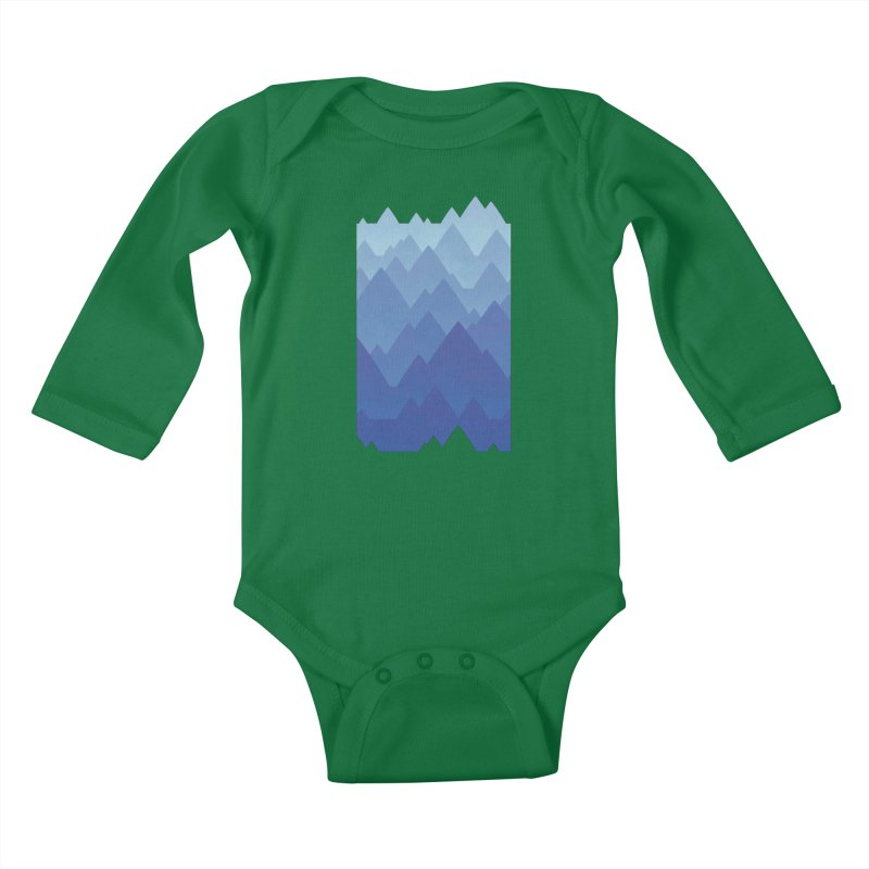 Mountain Vista Kids Baby Longsleeve Bodysuit by Waynem