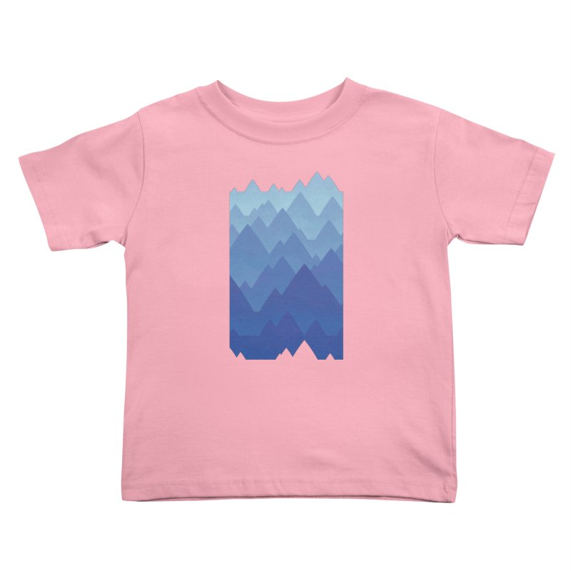 Mountain Vista Kids Toddler T-Shirt by Waynem