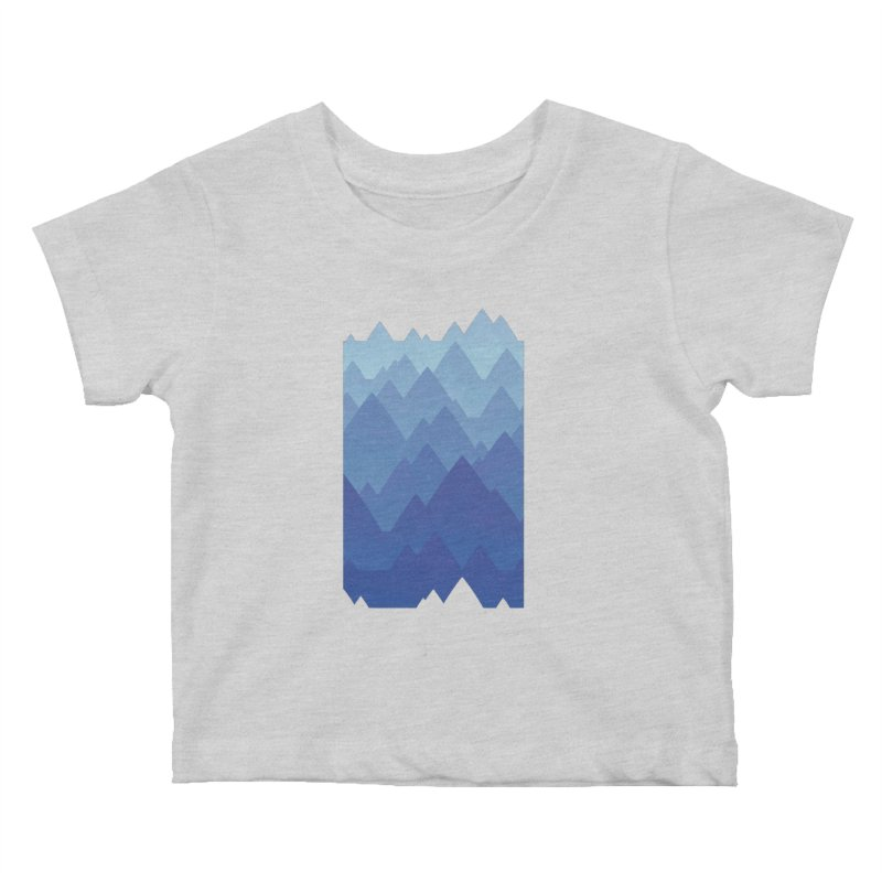 Mountain Vista Kids Baby T-Shirt by Waynem