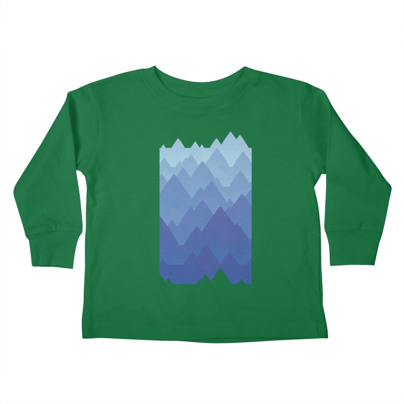 Mountain Vista Kids Toddler Longsleeve T-Shirt by Waynem