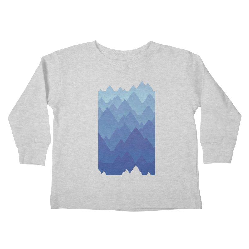 Mountain Vista Kids Toddler Longsleeve T-Shirt by Waynem