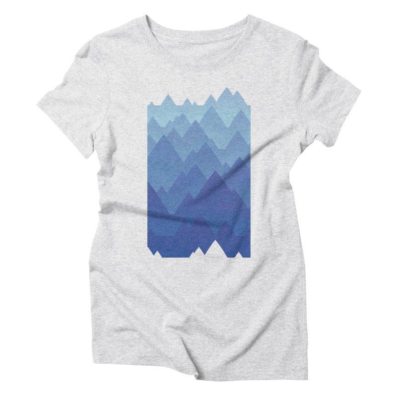 Mountain Vista Women's Triblend T-Shirt by Waynem