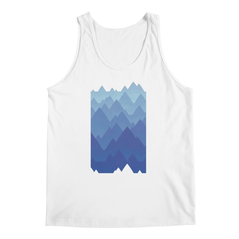 Mountain Vista Men's Regular Tank by Waynem