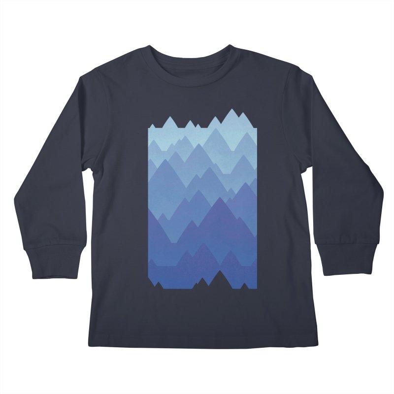 Mountain Vista Kids Longsleeve T-Shirt by Waynem
