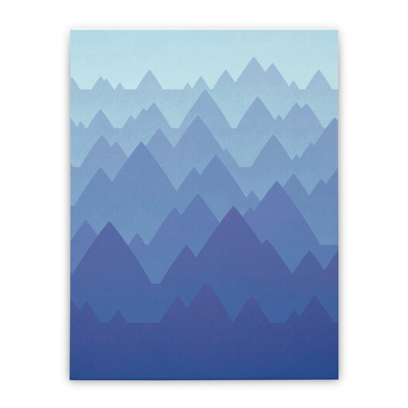 Mountain Vista Home Stretched Canvas by Waynem