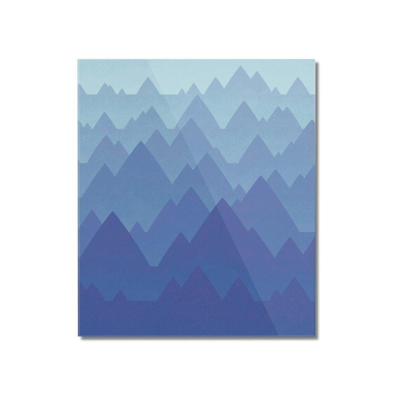 Mountain Vista Home Mounted Acrylic Print by Waynem