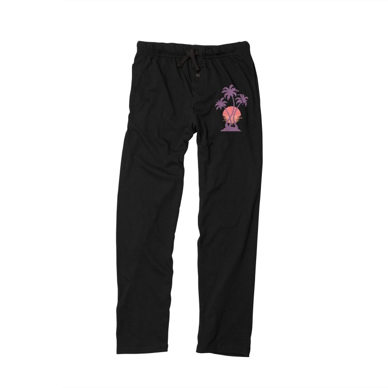 3 Palm Sunset Men's Lounge Pants by Waynem