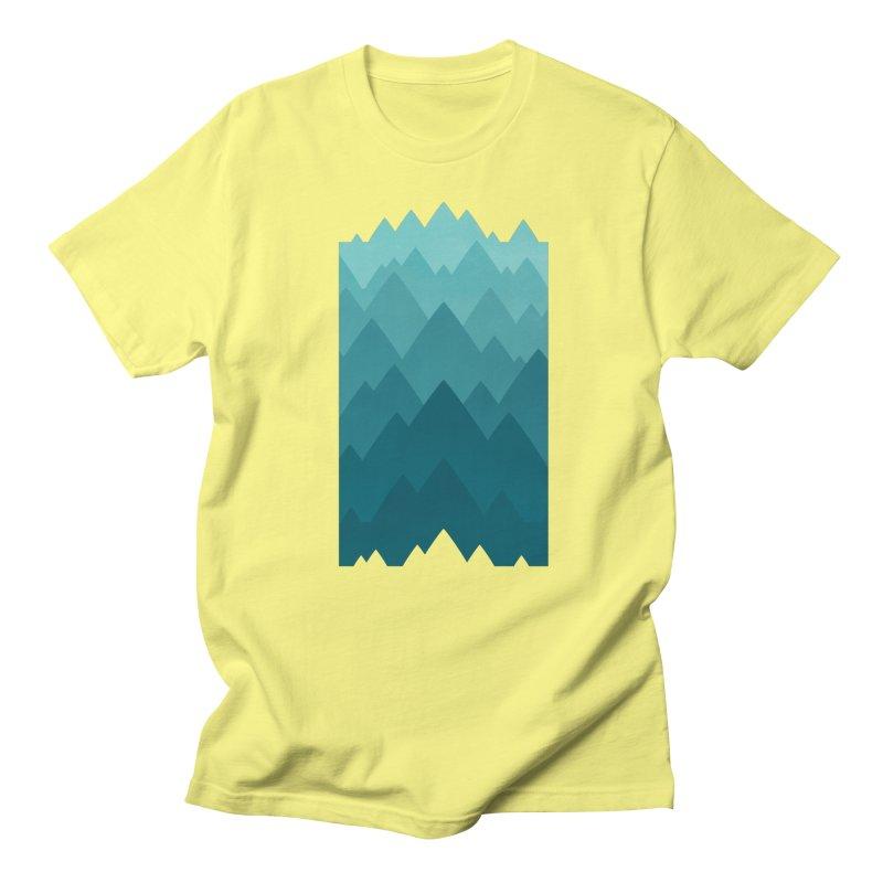 Mountain Vista: Green Women's T-Shirt by Waynem