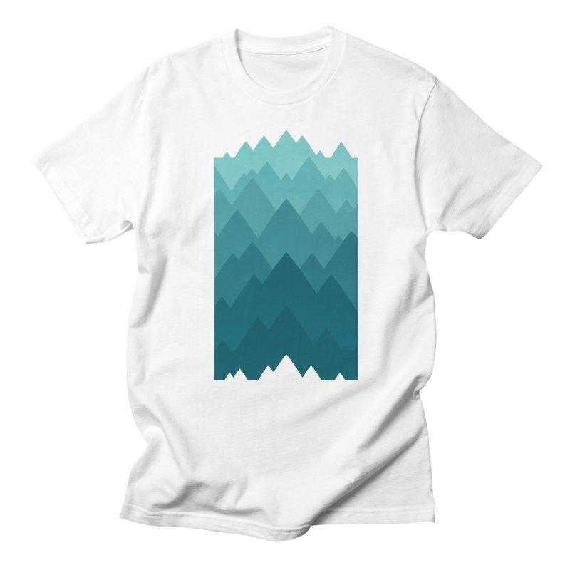 Mountain Vista: Green Women's Regular Unisex T-Shirt by Waynem