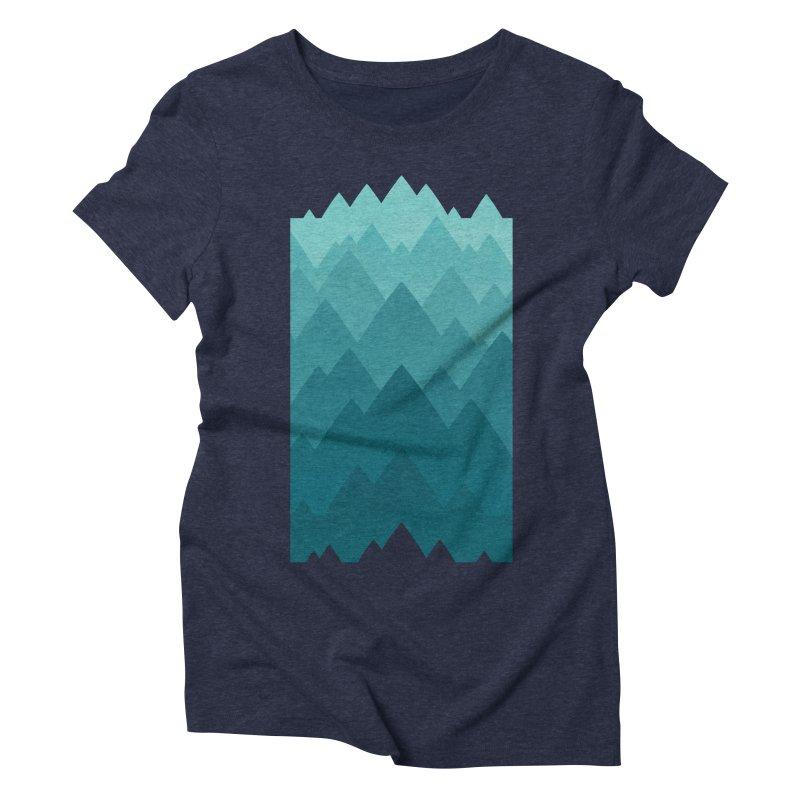Mountain Vista: Green Women's  by Waynem
