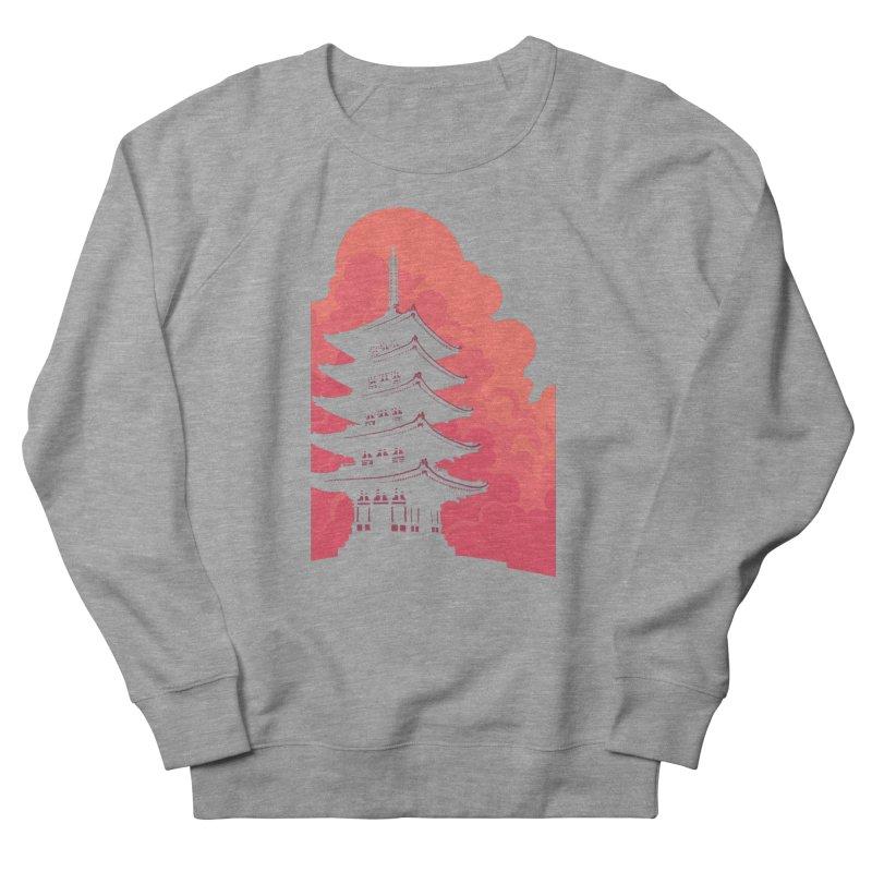 Pagoda Skyline Women's French Terry Sweatshirt by Waynem