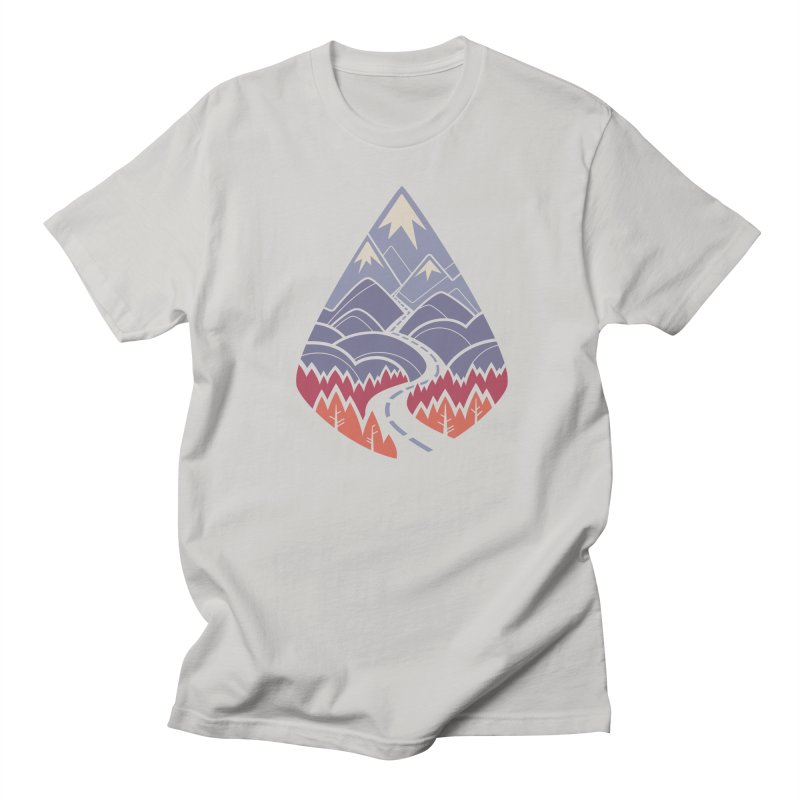 The Road Goes Ever On: Autumn Men's T-Shirt by Waynem