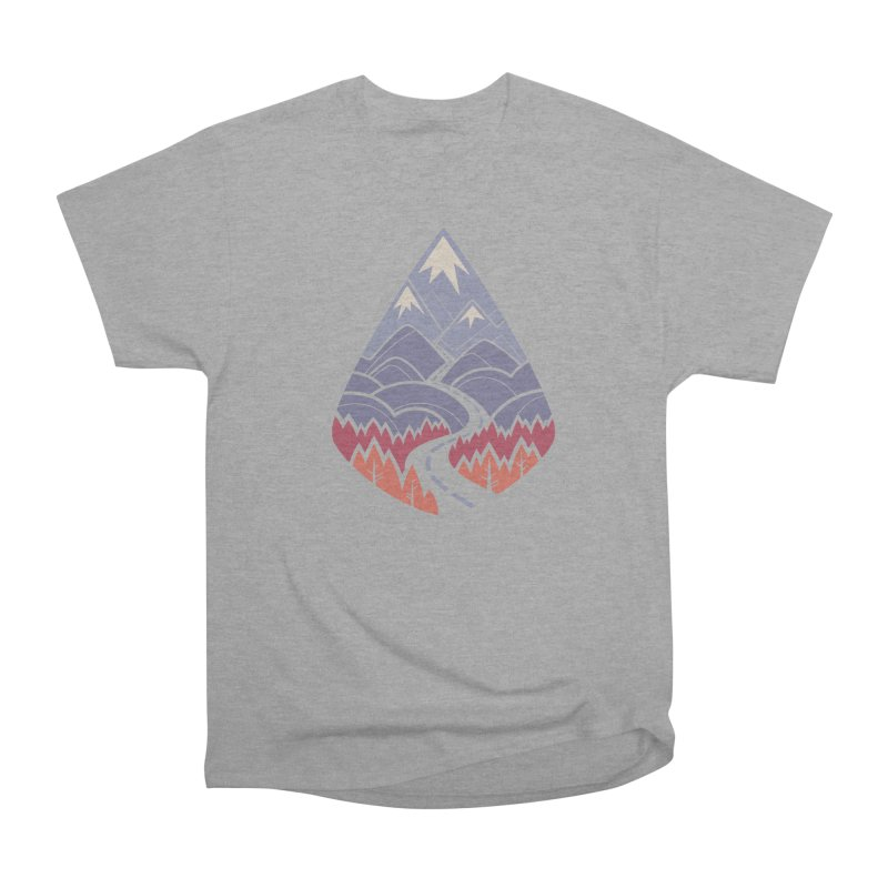 The Road Goes Ever On: Autumn Women's Heavyweight Unisex T-Shirt by Waynem