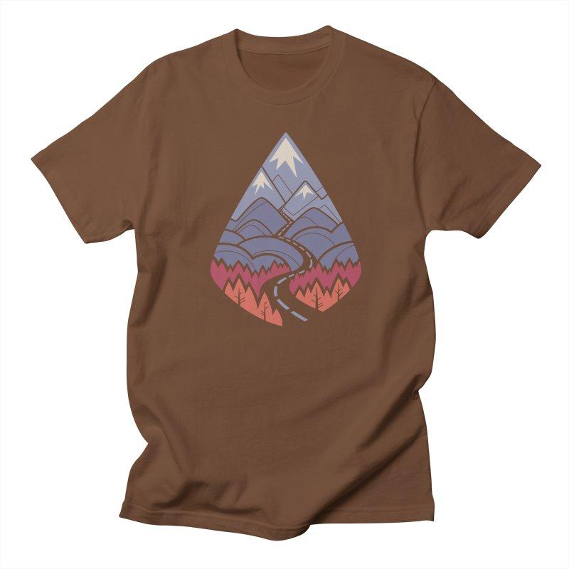 The Road Goes Ever On: Autumn Women's Regular Unisex T-Shirt by Waynem