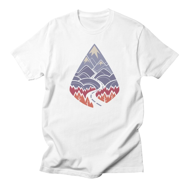 The Road Goes Ever On: Autumn Women's Regular Unisex T-Shirt by Waynem