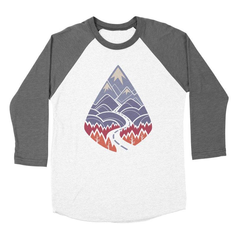 The Road Goes Ever On: Autumn Women's Baseball Triblend Longsleeve T-Shirt by Waynem