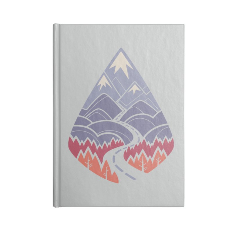 The Road Goes Ever On: Autumn Accessories Notebook by Waynem