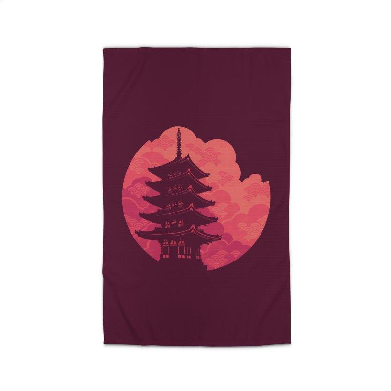 Pagoda Sunset Home Rug by Waynem