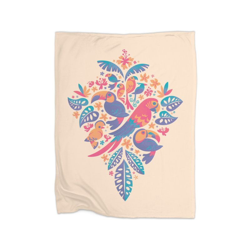 Tropicana II Home Blanket by Waynem