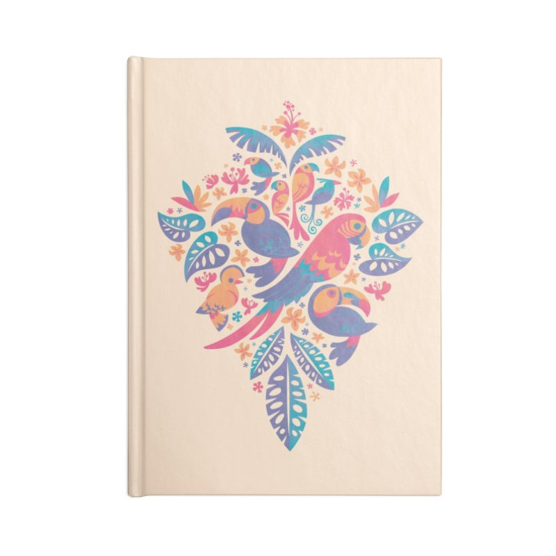 Tropicana II Accessories Blank Journal Notebook by Waynem