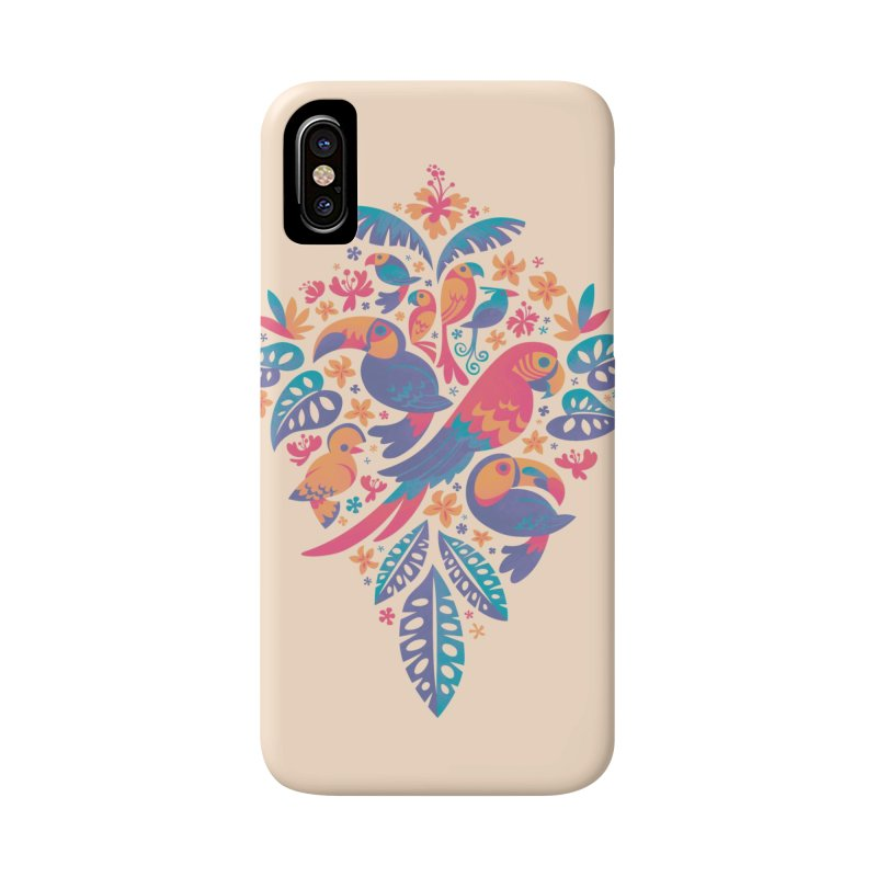 Tropicana II Accessories Phone Case by Waynem