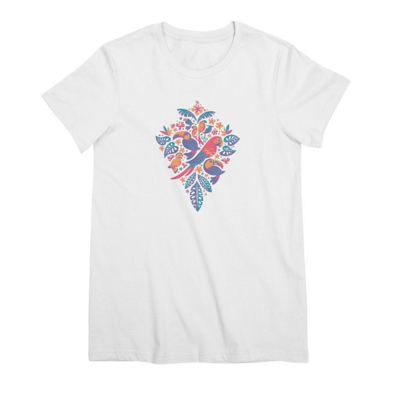 Tropicana II Women's Premium T-Shirt by Waynem