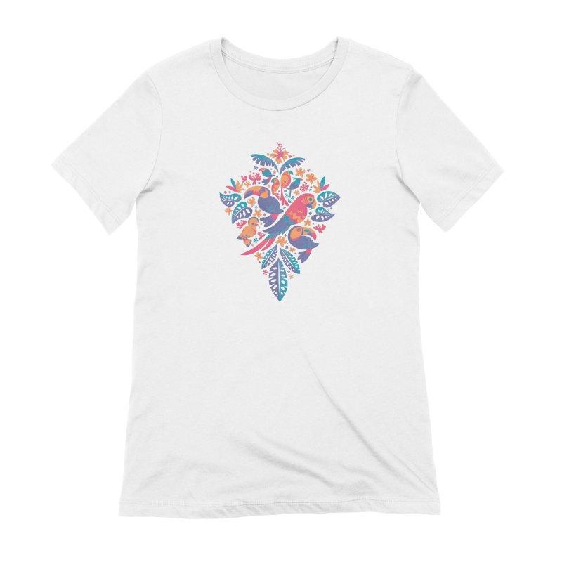 Tropicana II Women's Extra Soft T-Shirt by Waynem