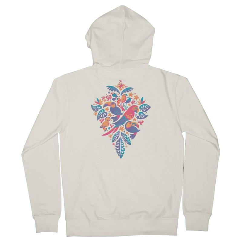 Tropicana II Women's French Terry Zip-Up Hoody by Waynem