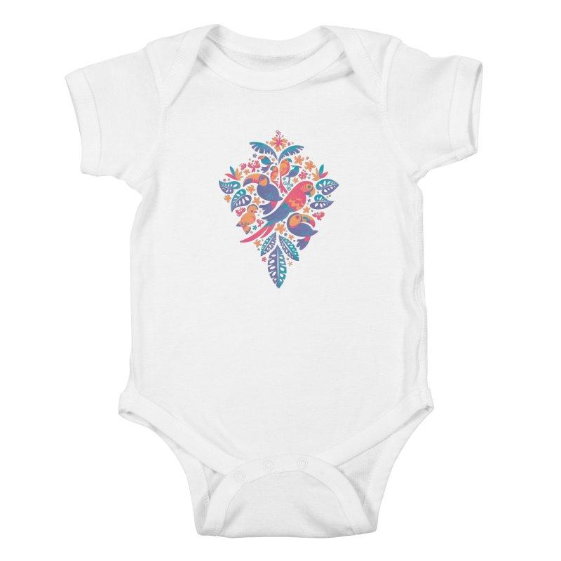 Tropicana II Kids Baby Bodysuit by Waynem
