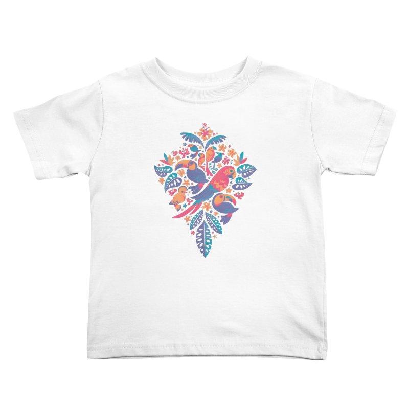 Tropicana II Kids Toddler T-Shirt by Waynem