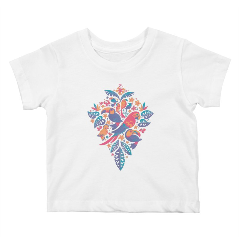 Tropicana II Kids Baby T-Shirt by Waynem