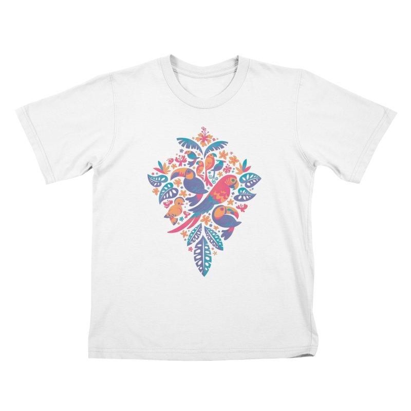 Tropicana II Kids T-Shirt by Waynem
