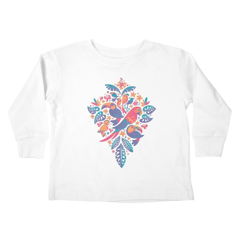 Tropicana II Kids Toddler Longsleeve T-Shirt by Waynem
