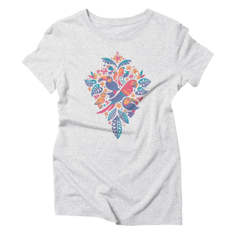 Tropicana II Women's Triblend T-Shirt by Waynem