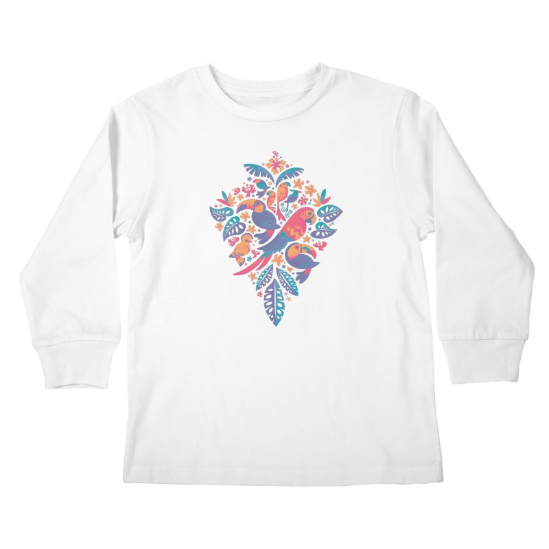 Tropicana II Kids Longsleeve T-Shirt by Waynem