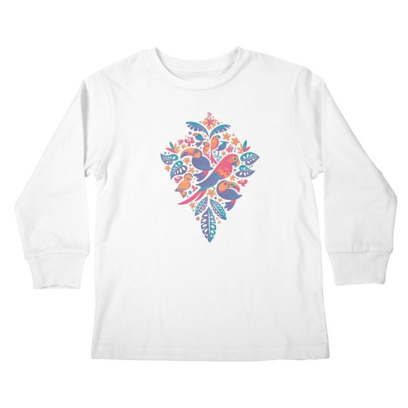 Tropicana II Kids Longsleeve T-Shirt by Waynem