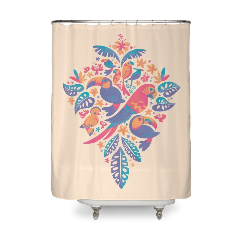 Tropicana II Home Shower Curtain by Waynem