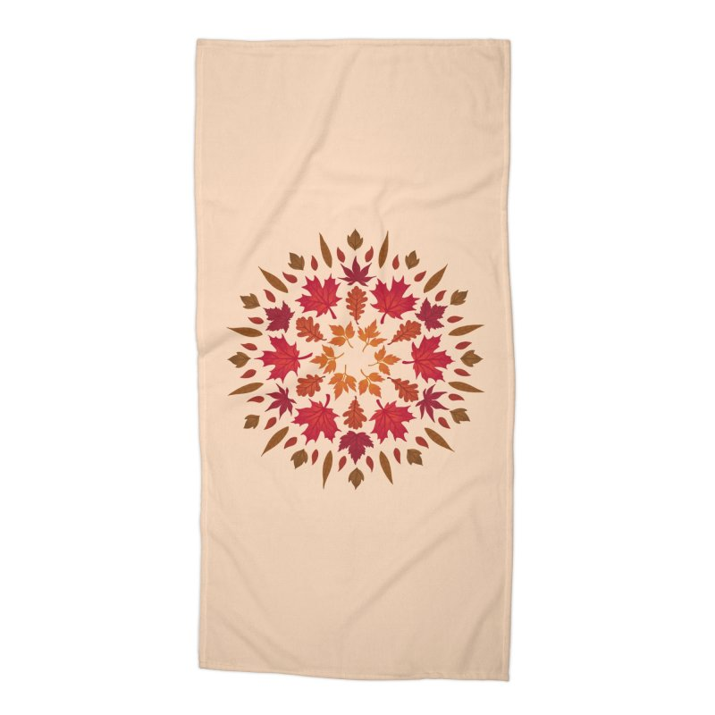 Autumn Sun Accessories Beach Towel by Waynem