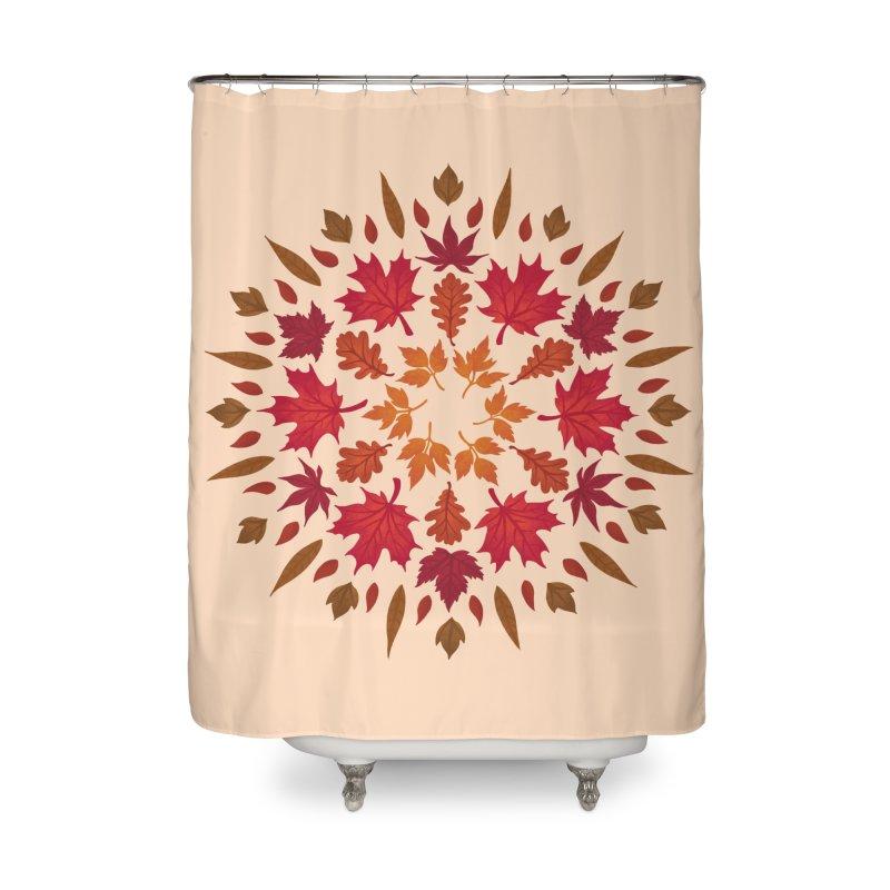 Autumn Sun Home Shower Curtain by Waynem