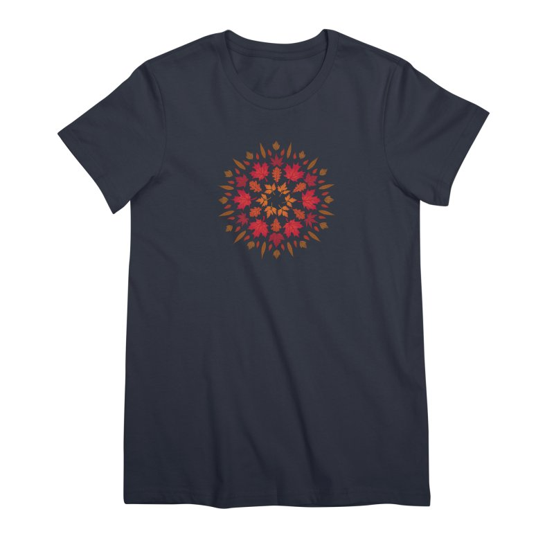 Autumn Sun Women's Premium T-Shirt by Waynem