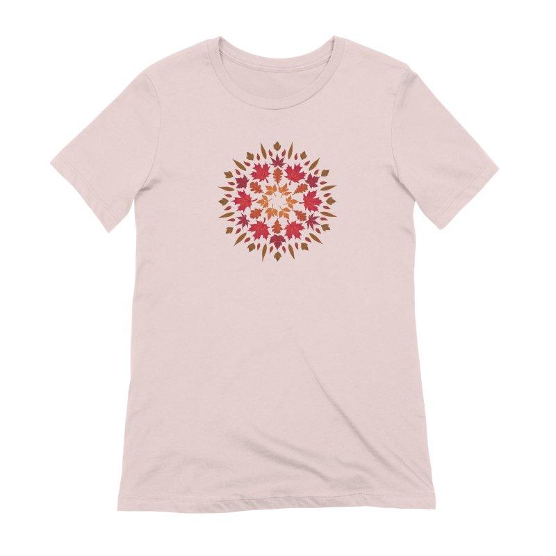 Autumn Sun Women's Extra Soft T-Shirt by Waynem