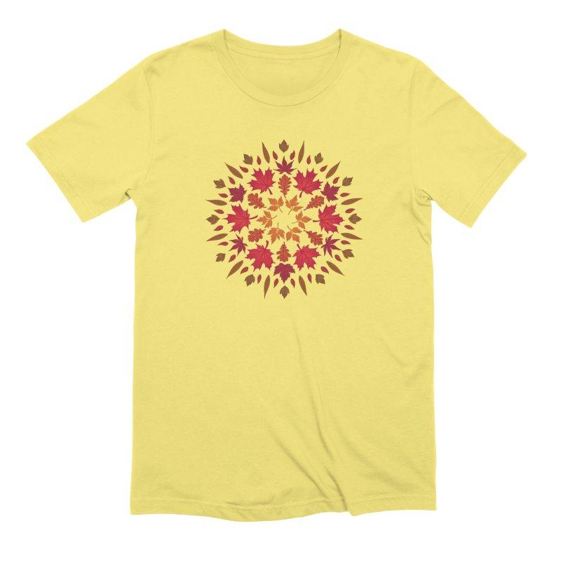Autumn Sun Men's Extra Soft T-Shirt by Waynem