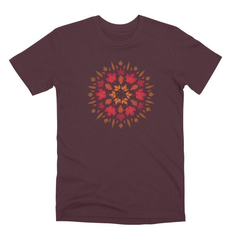Autumn Sun Men's Premium T-Shirt by Waynem