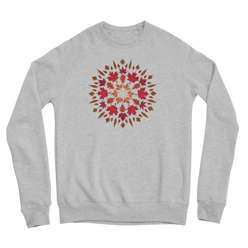 Autumn Sun Women's Sponge Fleece Sweatshirt by Waynem