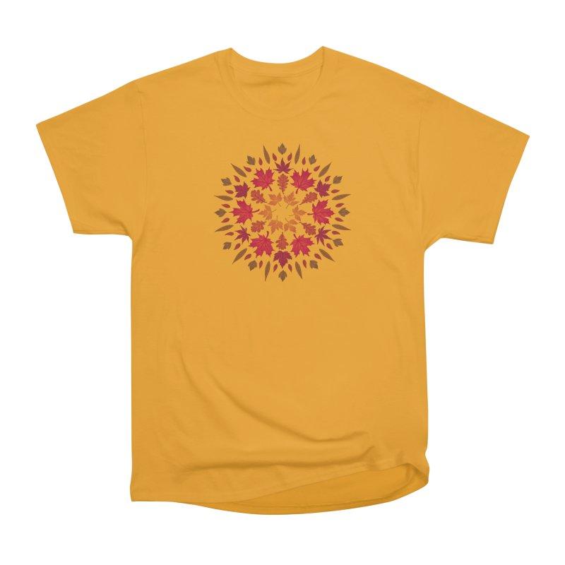 Autumn Sun Men's Heavyweight T-Shirt by Waynem