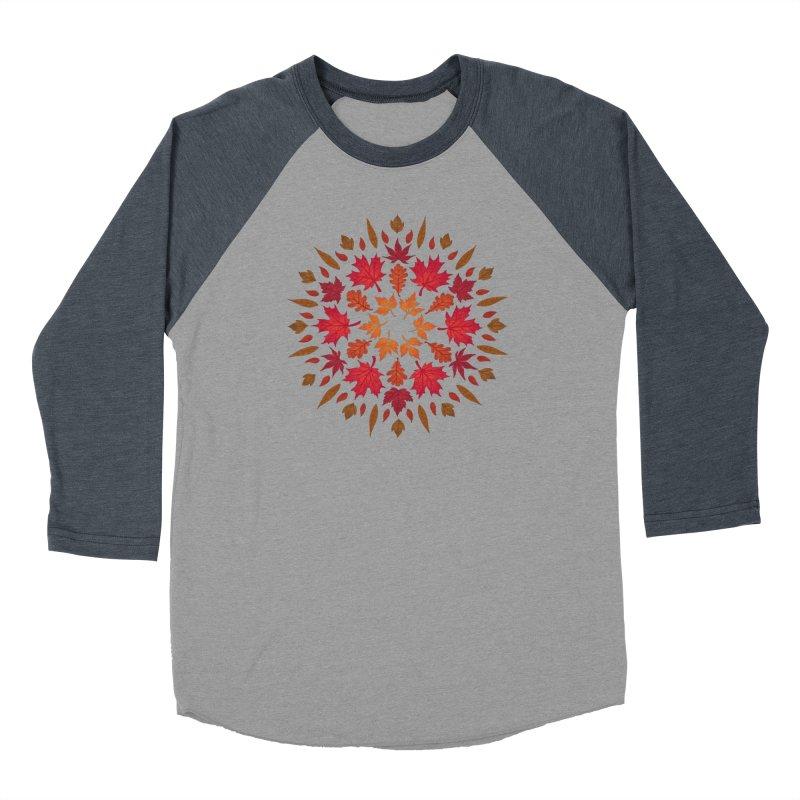 Autumn Sun Women's Baseball Triblend Longsleeve T-Shirt by Waynem