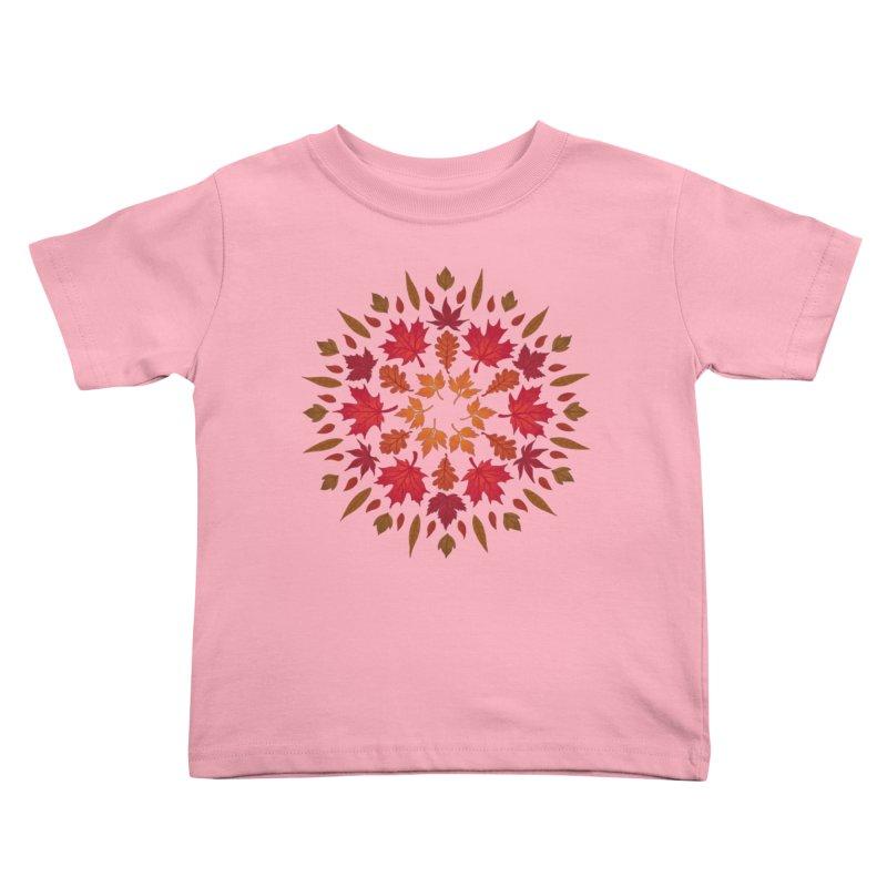 Autumn Sun Kids Toddler T-Shirt by Waynem
